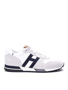 Hogan - H383 leather sneakers in white