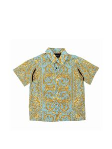Versace Young - Baroque fluo shirt