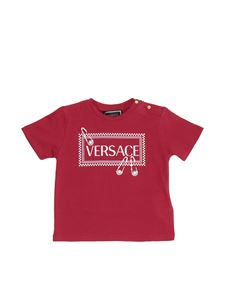 Versace Young - Red t-shirt with vintage 90s logo