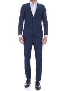 Paul Smith - Soho Fit suit in teal blue color