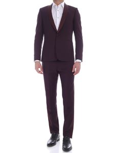 Paul Smith - Soho Fit suit in burgundy color
