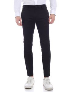 Paul Smith - Turned-up bottom pants in black