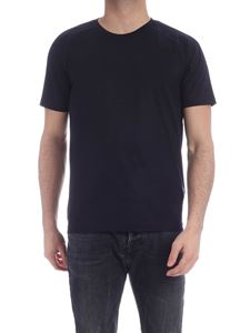 Z Zegna - T-shirt in techmerino blu