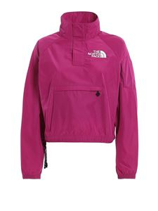 The North Face - Crop anorak in Aster Purple color