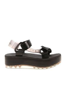 Melissa - Papete Platform Rider sandals in black