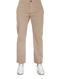Department 5 - Stretch cotton pants in beige