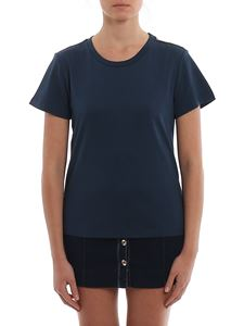 Patrizia Pepe - Chain detailed t-shirt in blue