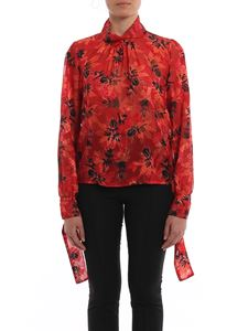 Patrizia Pepe - Floral patterned georgette blouse