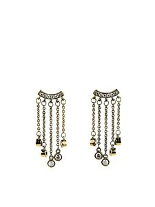 Federica Tosi - Earring Smart Rain in Gold color