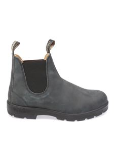 Blundstone - Faded effect Chelsea boots in black