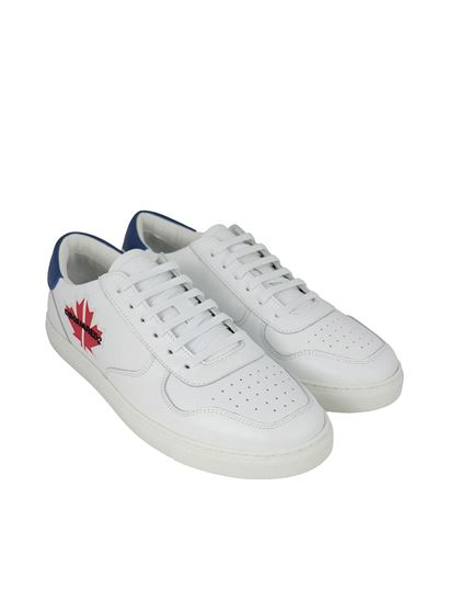 Details about  /Dsquared2 sneakers men maple SNM011101500360M072 White shoes trainers gym