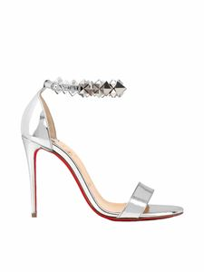 Christian Louboutin - Planetava sandals with studs in silver
