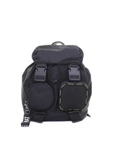 Vic Matiè - Becky black backpack with pockets