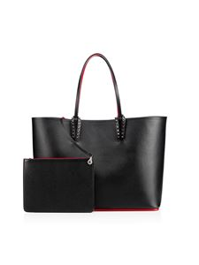 Christian Louboutin - Cabata bag with red interior in black