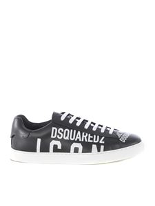 Dsquared2 - Sneakers Icon nere con logo