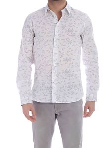 PS by Paul Smith - Paper Planes print shirt in white