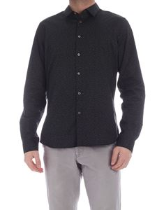 PS by Paul Smith - Contrasting print shirt in black