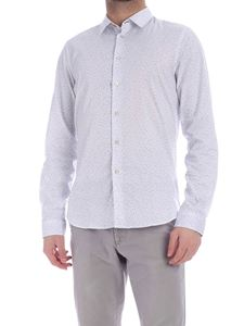 PS by Paul Smith - Camicia bianca con stampa a contrasto