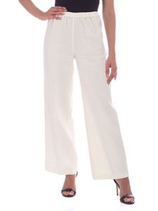 Aspesi - Relaxed fit pants in ivory color