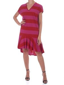 PS by Paul Smith - Knee-length dress in fuchsia and red