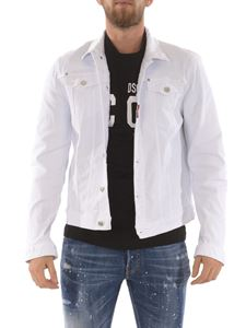Dsquared2 - Icon logo jacket in white