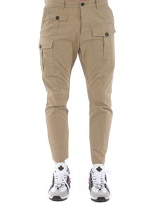 Dsquared2 - Pantalone Sexy Cargo beige