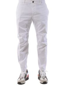 Dsquared2 - Crop pants in white