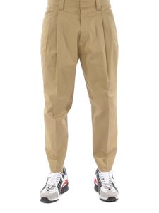 Dsquared2 - Cotton pants in beige