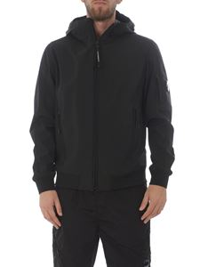 CP Company - C.P. Shell hooded jacket in black