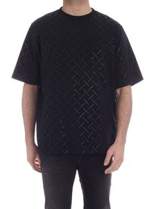 Marcelo Burlon County Of Milan - County all-over T-shirt in black