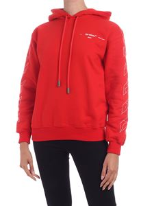 Off-White - Puzzle Arrow sweatshirt in red