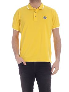 Kenzo - Tiger Crest polo shirt in yellow