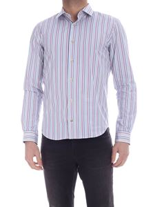 Paul Smith - Multicolor stripes shirt in white