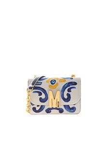 Moschino - Majolica shoulder bag in white
