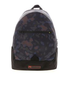 PS by Paul Smith - Heat backpack in black and blue
