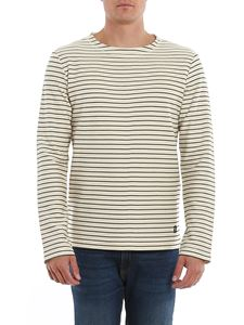 Dondup - Striped cotton sweatshirt