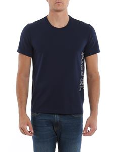 POLO Ralph Lauren - Cotton T-shirt with logo in blue