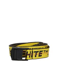 Off-White - Industrial Mini belt in yellow