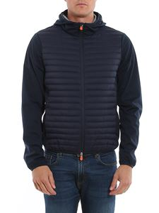Save the duck - Technical fabric jacket in blue