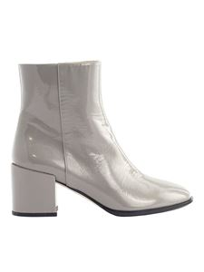 Fabiana Filippi - Patent leather ankle boots in grey