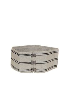 Missoni - Oversized striped belt
