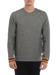 Paul Smith - Cotton sweatshirt in melange grey
