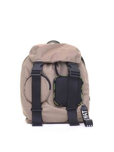 Vic Matiè - Becky beige backpack with pockets