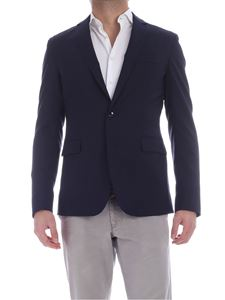 Dondup - Single button jacket in blue