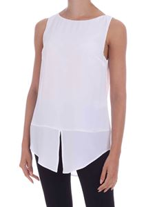 Dondup - Crepe top in white