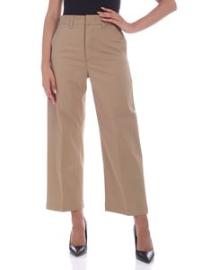 Department 5 - Relaxed fit pants in camel color