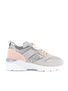 Hogan - Sneakers Active One in camoscio