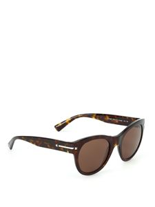 Valentino - Tortoiseshell sunglasses in brown