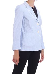 Max Mara Weekend - Giubilo jacket in white and light blue