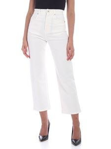 Max Mara Weekend - Orbace jeans in ivory color
